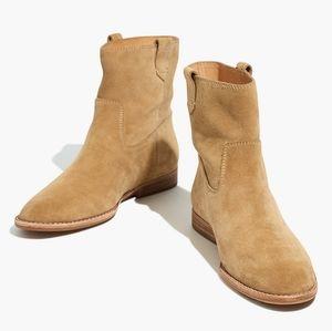 NWB Madewell Suede Leah Boot, 8